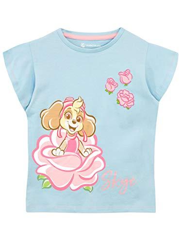 PAW PATROL Mädchen T-Shirt Blau 110