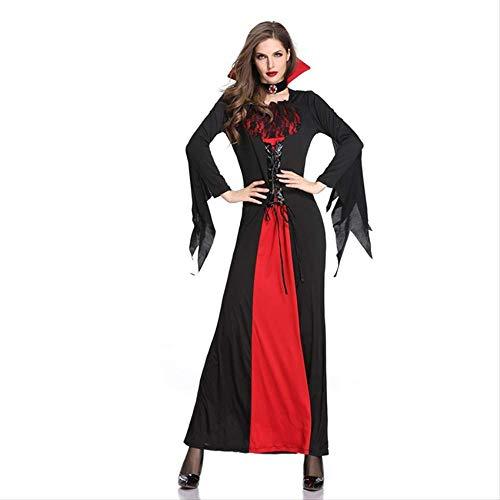 WARRT Disfraz de halloweenVestido Para Las Mujeres Juego Vestir Disfraces De Halloween De Lujo Mujer Payaso Vampiro Vampiro Tutú Aterrador Novia Sangrienta M Estilo Vampiro 3