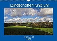 Landschaften rund um Marienheide (Wandkalender 2022 DIN A3 quer): Eine Gemeinde im schoenen Bergischen Land inmitten herrlicher Natur. (Monatskalender, 14 Seiten )