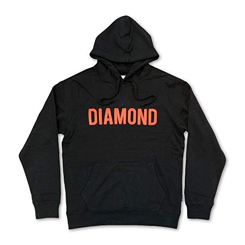 Diamond Supply Co Diamond French Terry Pullover Hoodie Black