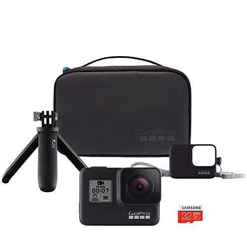 【GoPro公式】GoPro HERO7 ブラック + ショーティー + スリーブ&ランヤード + コンパクトケース + 32GB microSDカード バンドル 【国内正規保証品】