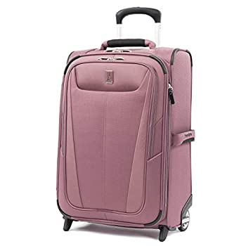 Travelpro Maxlite 5-Softside Lightweight Expandable Upright Luggage Dusty Rose Carry-On 22-Inch
