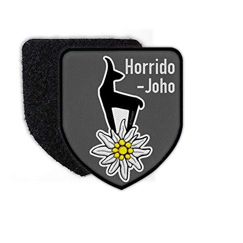 Copytec Patch Horrido - Joho Gams Alpen Edelweiss Gebirgs-Jäger Bundeswehr Aufnäher Bergsteiger BW Abzeichen Klett #23767