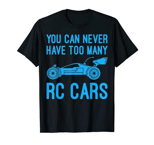 Divertido RC Racing regalo de control remoto coche amante hombres niños niños Camiseta