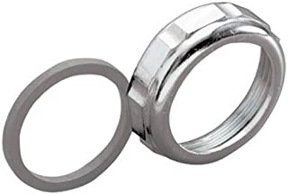 Keeney 916DK 1-1/4-Inch by 1-1/2-Inch Slip Joint Reducer Nut and Washer, Chrome