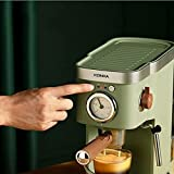 bjblsnz Máquina de café Espresso semiautomática de Consumo y máquina de café Comercial extracción de Vapor para Hacer Espuma de Leche Nueva