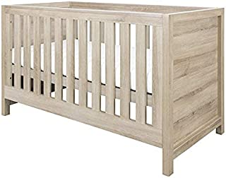 ECO HD Airflow Nursery Fibre Mattress 140x70x10cm Baby Sleigh Cot Bed /& Mattress New Little Babes Ltd White /& Blue Convertible Mason Cot Bed with Drawer