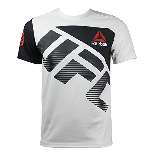 Camiseta térmica de hombre Reebok Ufc Fk Cmg, color Weiss, tamaño medium