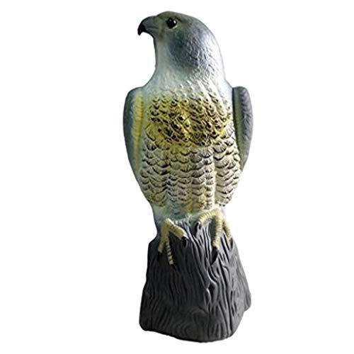 YusellYu Lebensechter Greifvogel, der Vogel- und Tierschädlinge abschreckt, wie zum Beispiel Tauben von Garden Home Garden Decoration Hangs