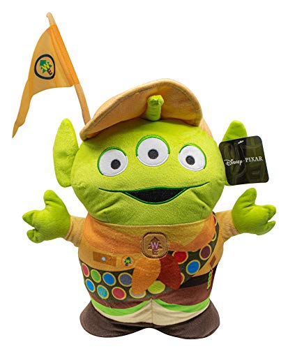 Jay Franco Disney Pixar Toy Story Up Alien - Almohada de peluche (microfibra de poliéster súper suave, 16 pulgadas)