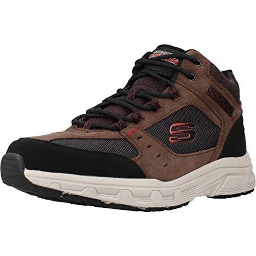 Skechers Herren Wanderstiefel Oak Canyon IRONHIDE Braun, Schuhgröße:EUR 43
