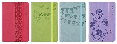 EasyNote Notizbuch, A5, weicher Einband, Pastellfarben