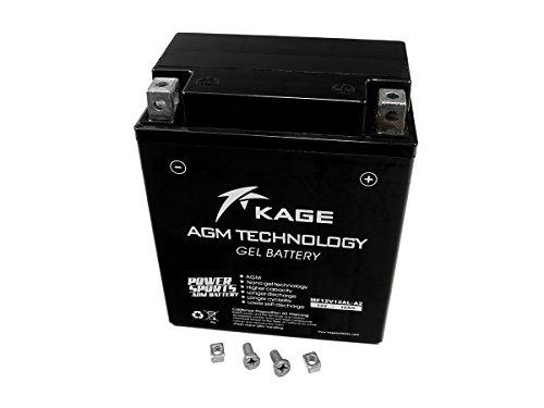 GEL Batterie KAGE YB12AL-A2 12AH für Aprilia B M W H o n d a Kawasaki Malaguti