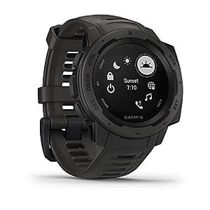 Garmin Instinct, GPS Watch, Graphite, Refurbished