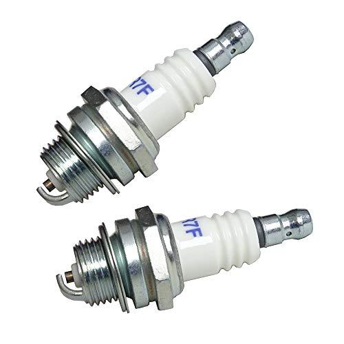 Zündkerzen Ersatzzündkerzen Set für Motorsensen und Motorsägen ersetzt Bosch WSR6F Bosch 0242240846 Champion RCJ6Y Dolmar 965603014 NGK BPMR6A NGK BPMR7A Stihl 11104007005 (2)