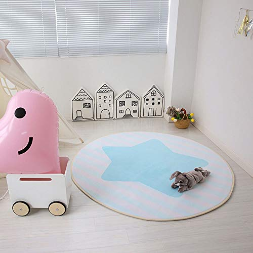 Review Of LOUUG Animal Early Education Round Cartoon Children Baby Play Mat Kids' Room Decoration Gi...