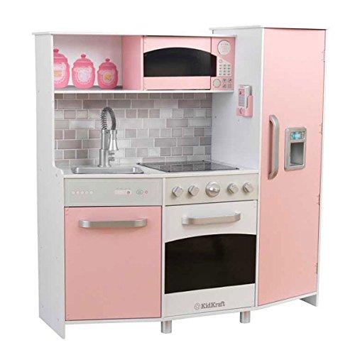 KidKraft Kinderküche Spielküche aus Holz - Küche rosa