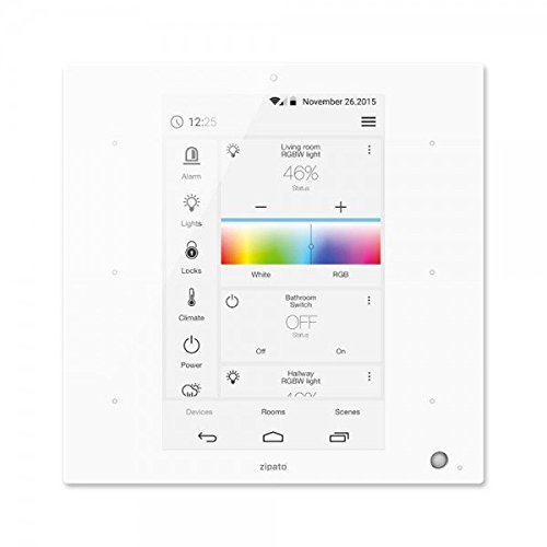 Zipato ZIPETILE-W ZipaTile All-in-One Touchscreen Smart Home Gateway