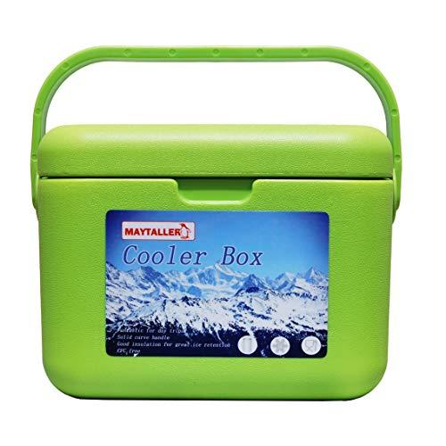 ZXYWW Kühlbox im Freien, 5L Isolierte Hartschalen-Kühlbox, Picknickkühlbox im Freien Angelbox Marine