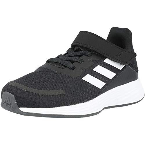 adidas Duramo SL, Sneaker, Core Black/Footwear White/Grey, 34 EU