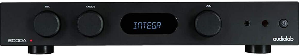 Audiolab 6000A Play Integrated Amplifier with Wireless Audio Streaming (Black)