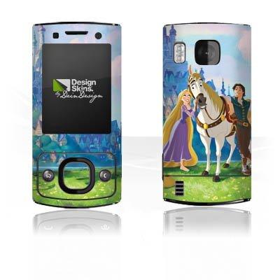 Nokia 6700 Slide Aufkleber Schutz Folie Design Sticker Skin Disney Rapunzel verföhnt Merchandise Geschenke