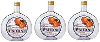 3 Flaschen Bailoni Marillenschnaps a 0,7 L 40% vol. Marillen Schnaps