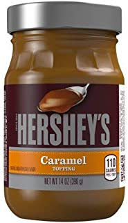 HERSHEY'S Caramel Topping (Pack of 2)