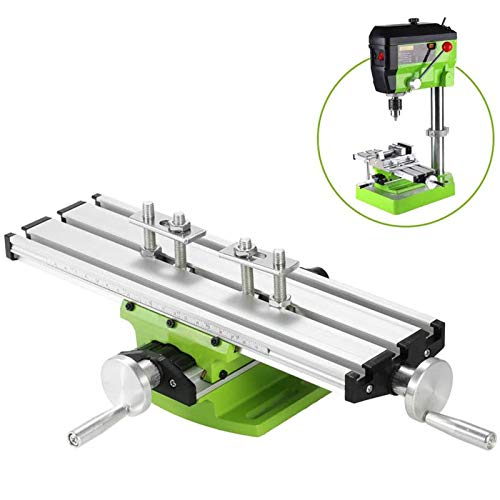 Mini Compound Bench Drilling Slide Table Worktable Fresado Acabado Cross Table Milling Machine para banco Drill Stand