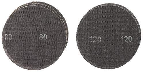 kwb by Einhell Gitter-Schleifscheiben Set (Ø 225 mm, 3x K80, 2x K120, passend für Einhell Trockenbauschleifer TE-DW 225 X)