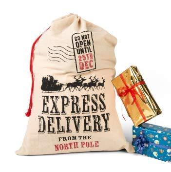 Dmail – Saco porta regalos yute Express