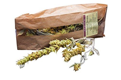 ARISTOS Griechischer BIO Bergtee Sideritis Scardica aus Griechischem Eisenkraut – 2x 25 g 100 % Griechischer Kräutertee mit Stiel zur Entspannung und Beruhigung