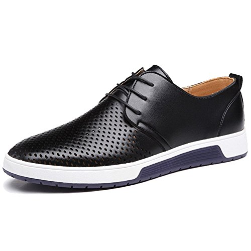Mens Casual Shoes Fashion Flats Leather Casual for Men