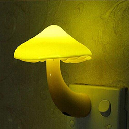 PilzNachtlichtenergiesparende LED-Sensor-Lampefür KinderSchlafzimmer/ Bars/Party /Hause-EU-Stecker