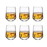 Best Whiskey Glasses - Whiskey Glass Set of 6: Heavy Whisky Tumbler Review