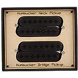 TAKE FANS Pedal de Pastilla de Guitarra eléctrica, Pastilla de mástil de Puente Humbucker de Guitarra de Acero de 7 Cuerdas, Piezas de Guitarra eléctrica, Accesorios para Instrumentos Musicales GMD08