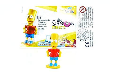 Kinder Überraschung Bart Simpsons mit deutschen Beipackzettel aus dem Ü-Ei von Ferrero