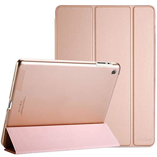 ProCase Funda iPad 2 3 4 - Carcasa Folio Ligera Delgada con Tapa Inteligente Reverso Translúcido Esmerilado Soporte para 9,7