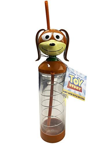 Primark Limited Toy Story Slinky Wasserflasche mit Strohhalm, Kinder-Trinkflasche