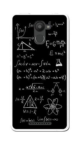 Tumundosmartphone Funda Gel TPU para BQ AQUARIS U Plus diseño Formulas Dibujos