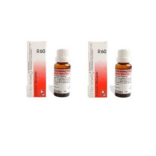Dr. Reckeweg Dr.Reckeweg Germany R60 Blood Purifier Drops Pack of 2