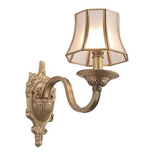 Lámparas de pared Sala de estar interior La lámpara del pasillo del pasillo de la lámpara LED de pared Lámpara de pared Iluminación en el salón dormitorio de noche de acero inoxidable Escalera pared L