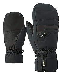Ziener Herren GLYNDAL GTX Gore plus warm MITTEN glove ski alpine Ski-handschuhe / Wintersport | wasserdicht, atmungsaktiv, schwarz (black), 9.5