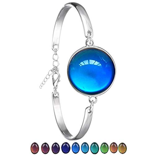 OSALAD Classic Temperature Change Color Mood Bracelet Jewelry Smart Discolor Bangles Best Gift For Friends