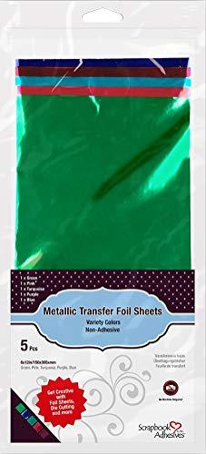 Scrapbook-lijm van 3L metalen transferfolies, gemengd, 150 x 305 mm