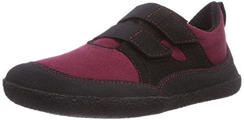 Sole Runner Unisex-Kinder Puck Sneakers, Rot (red/black 50), 27 EU