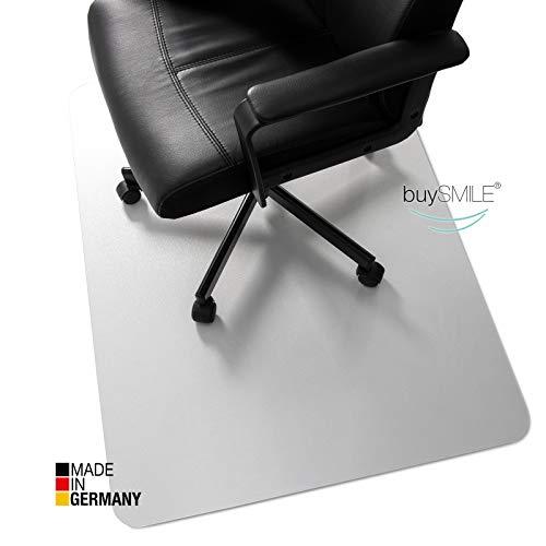 buySMILE BODENSCHUTZMATTE  Made in Germany   für HARTBODEN   115 x 135 cm   aus POLYCARBONAT   sehr TRANSPARENT