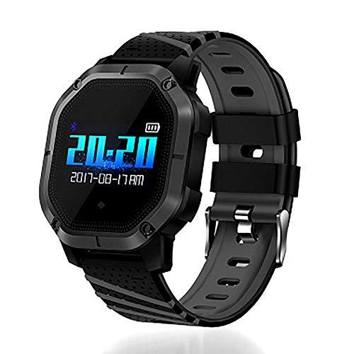 Pulsera de actividad Deportes pulsera inteligente pulsera de deporte síncrona pulsera deportiva monitor pulsera deportiva Amarillo Fitness tracker watch-D