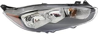 Headlight Assembly Compatible with 2014-2018 Ford Fiesta Halogen Hatchback/Sedan Passenger Side