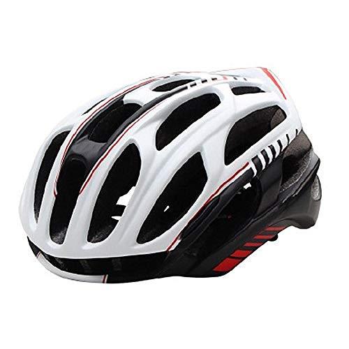 Motorradhelm Rennrad Mountainbike Helm Mann Ultraleichter MTB Fahrradhelm Mit LED Rücklicht Sport Safe Gear-C_M.